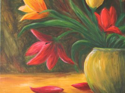 Tulips - Art Group Oct 2017