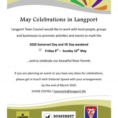 VE Day  and Somerset Day Langport
