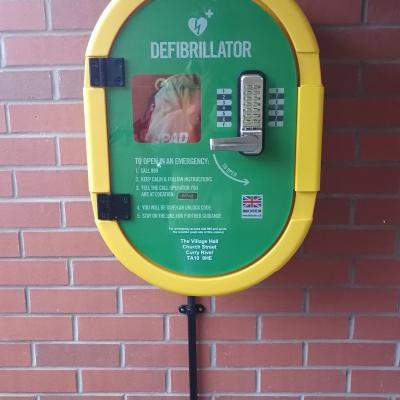 Village Hall defibrillator