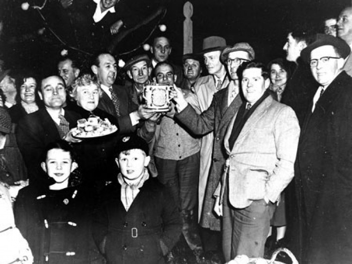 Wassailing in Curry Rivel in the 1950s