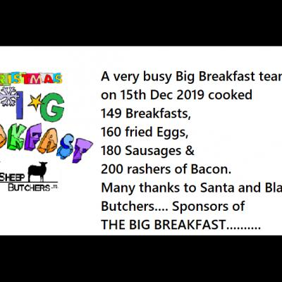 Xmas Big Breakfast 2019 screen Update