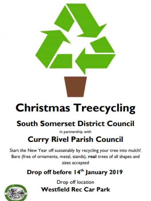 Xmas Tree Recycling 2019