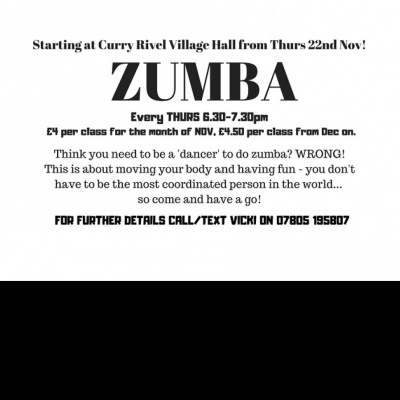 ZUMBA Curry Rivel